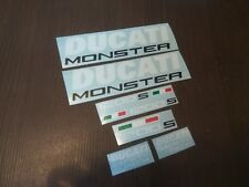 DUCATI MONSTER 1200 S full decals stickers graphics logo set kit