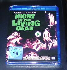 NIGHT OF THE LIVING DEAD  VON GEORGE A. ROMERO BLU RAY SCHNELLER VERSAND NEU