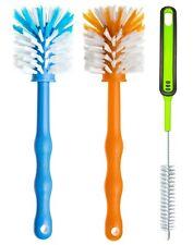 3er Set Bürste Spülbürste zur Reinigung von Küchenmaschinen - Mixbehälter Messer