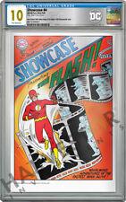 DC COMICS - SHOWCASE #4 - 1ST APP OF FLASH - 35G SILVER FOIL - CGC 10 GEM MINT