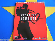 WAY OF THE SAMURAI 2 - STRATEGY GUIDE
