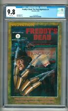 Freddy's Dead: The Final Nightmare #1 (1991) CGC 9.8  White Pages  Mangels