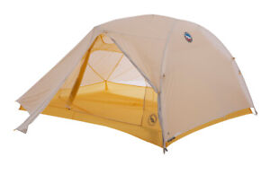 Big Agnes Tiger Wall Ul3 Solution Dye - Gray/yellow - 3 Person