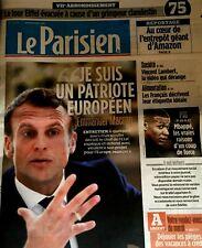 LE PARISIEN*21/05/19*NEUF**MACRON PATRIOTE EUROPÉEN**MBAPPÈ & PSG**DÉPÔT AMAZON