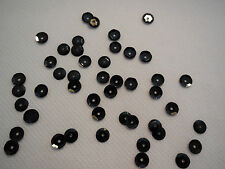 Bridal Wedding Black Hologram Round Cupped Sequins 6mm approx1700 per pack 20g