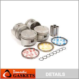 Pistons and Rings fit 91-98 Mazda Protege Miata MX5 Ford Mercury 1.8L BP