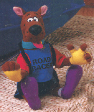 SCOOBY-DOO ~ EXTREME CYCLIST PLUSH X-GAMES CHARACTER NEW CONDITION WITH TAGS