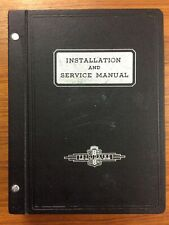 New ListingHuge 1943 Frigidaire Installation and Service Manual Photos Products Prior 1937