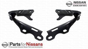 Genuine Nissan 1989-1993 240SX Hood Hinge Set Pair Left Right NEW OEM