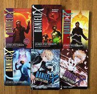 Lot 6 James Patterson DANIEL X books 1 3 4 6  + Graphic Novels 1 2 Fantasy