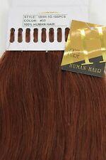 Extensions de Cheveux Véritables Set 100x1g Mèches Collage de Kératine 49cm