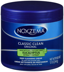 Noxzema Classic Clean Original Deep Cleansing Cream w Eucalyptus  12 oz