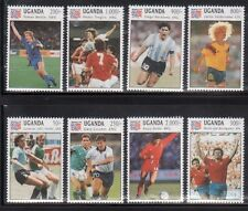 Uganda 1145-52 World Cup Soccer Mint NH
