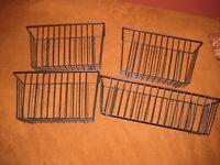 InterMetro Metro Shelving Set of 4 Baskets - Excellent Condition