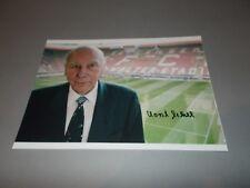 Horst Eckel DFB Weltmeister WM 1954  signiert signed Autogramm auf  20x28 Foto