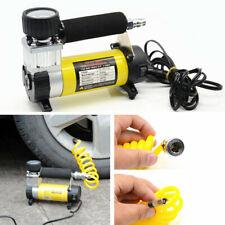 12V Car Electric Portable Pump Tire Tyre Inflator Air Compressor Pressure Gauge