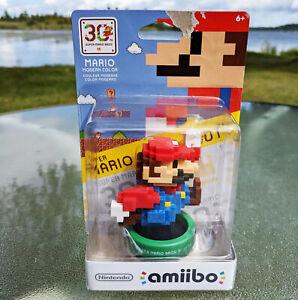 Nintendo Amiibo Figure - MARIO Modern Color - Super Mario Bros - 1st Edition USA