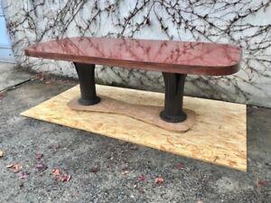 """Importante Tavolo Ovale Art Decò """"Vittorio Dassi"""" - Restaurato(in corso d'opera)"""