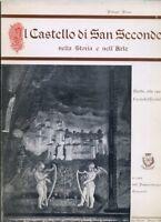 LT- CASTELLO DI SAN SECONDO NELLA STORIA DELL'ARTE - PELLEGRI ---- 1968 - B- WPR