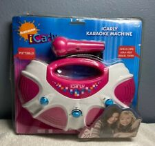 i Carly Nickelodeon Karaoke Machine Portable Toy NOS Package Damaged Sakai 2009