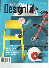 WIRED DESIGN LIFE, 2014(THE STYLE MANUAL FOR GADGETS AND GEAR*DESIGN YOUR DRY