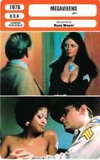 FICHE CINEMA : MEGAVIXENS - Schaaf,McLane,Collins,Russ Meyer 1976 Up !