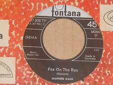 "MANFRED MANN -Fox On The Run- 7"" 45"