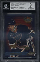 1993-94 SC Members Only Finest Jeff Brown Mint BGS 9 Sub 9.5 St Louis Blues