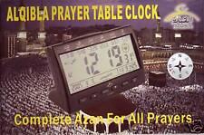 ISLAMIC MUSLIM Azan Prayer Table Clock