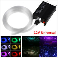 300pc Car Romantic Decor 16W RGBW LED Fiber Optic Star Ceiling Lights Source Kit