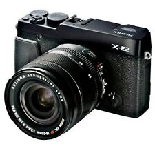 NEW Fujifilm X-E2 Mirrorless Digital Camera XF 18-55mm Lens R LM OIS Black 16MP