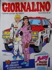 GIORNALINO n°21 1987 Jacopo Del Mare Mitty Pinky Piccolo Dente + inserto  [G261]