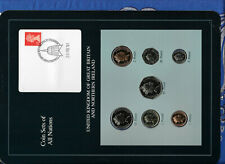 Coin Sets of All Nations Great Britain UNC 1£, 1,2,5,10,20,50p 1990