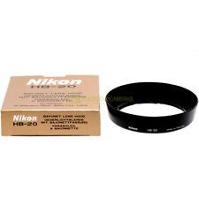 Nikon paraluce HB-20 per obiettivo Nikkor 28-80mm f3,3-5,6 G. Parasole HB20 Hood
