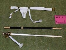 DRAGON IN DREAMS DID 1/6 SCALE NAPOLEONIC FRENCH SWORD & BELT from HERVE DRAGOON
