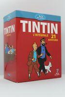 "Coffret 7 Blu ray "" Tintin l'intégrale "" 21 aventures"