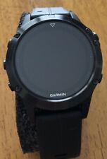 Garmin Fenix 5 Sapphire Crystal Black GPS Multi Sports Watch 47mm