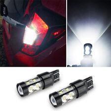 2X 50W LED Front Turn Signal Light T20 7440 White Bulb for 11~13 Dodge Durango