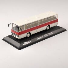 Atlas 1:72 Scale Diecast White Ikarus 256 1977 Bus Vehicles Car Model Toy Gift