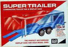 MPC 909 Super Trailer Autoanhänger Transporter Display Case 1:24