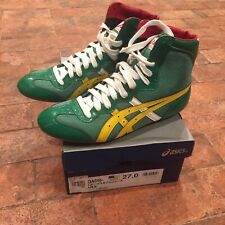Asics Japan tiger wrestling shoes patent size 10 new in box gable rare