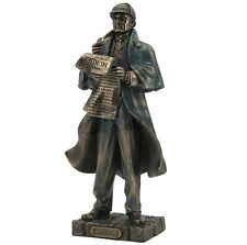 "11"" Sherlock Holmes Statue Figure Figurine Sculpture Collectible"