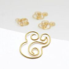 Paper Clips Ampersand Gold Planner Accessories