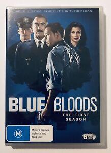 Blue Bloods : Season 1 One DVD 6-DISCS NEW & SEALED** Rated M Region 4 Au Drama