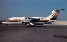 AMERICAN AIRLINES  BAe 146-200A MERGED W/ AirCal 1987 POSTCARD