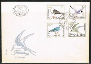 Yugoslavia 1984. Sea Birds. FDC. Unaddressed.
