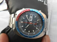 USED VTG SEIKO PEPSI BEZEL 6139-7002 AUTOMATIC CHRONOGRAPH GENTS WRISTWATCH