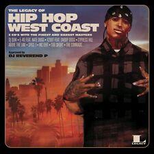 THE LEGACY OF HIP HOP WEST COAST - CYPRESS HILL, XZIBIT, DJ QUIK  3 CD NEU