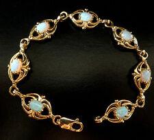 9 Carat Yellow Gold Bracelet Art Deco Fine Jewellery