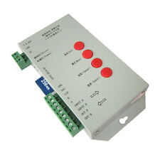 T1000S DMX 512 RGB LED Controller Configurable SPI SD Card WS2811 WS2801 5V-24V
